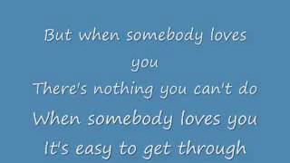 Alan Jackson When Somebody Loves You lyrics