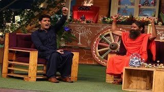 Baba Ramdev On The Sets Of The Kapil Sharma Show  TellyTopUp