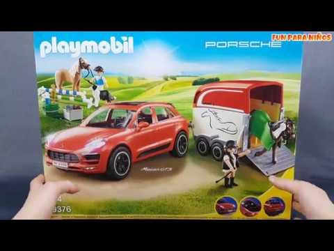 Playmobil 9376 Porsche Macan GTS 🚗 Coches de juguete para niños