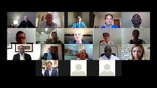 Prälat Ocariz spricht online mit Medizinern über COVID-19-Patienten