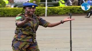 Inspiring poem by KDF officer, Sgt Gladys Emodo on hardships and