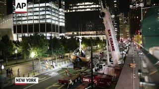 Raw: Koenig Sphere Returns to Ground Zero