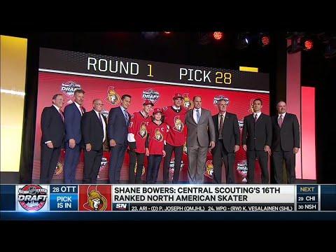 Sens snag 'safe' pick with Shane Bowers at 28
