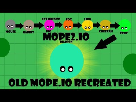 Old Mope.io Video 2