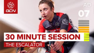 Indoor Cycling Workout | Sufferfest 30 Minute Ramp Session The Escalator