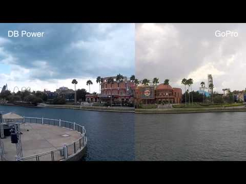 GoPro 3 Plus vs. DBPOWER Action Camera