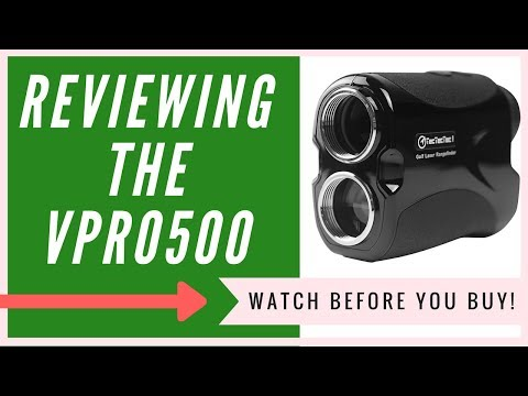 TecTecTec VPRO500 Golf Rangefinder Review | An HONEST Review