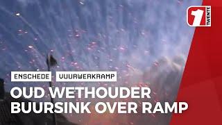Dick Buursink was Enschedese wethouder ten tijde van vuurwerkramp