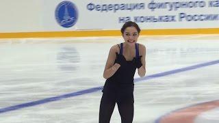 Евгения Медведева - ПП.  Открытые прокаты. Сезон 2015-2016 NEW