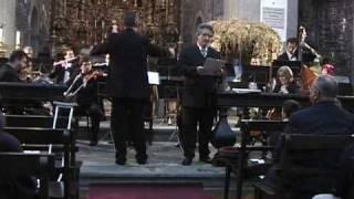 "ADOLPHE ADAM: CANTIQUE DE NOEL ""Minuit, chretiens"" KURT SPANIER tenor dec 2005 live"