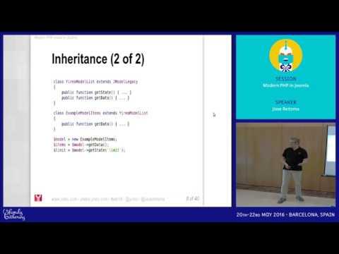 JAB16 - Modern PHP in Joomla