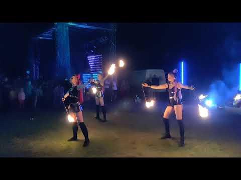 Z-show: Вогняне і світлодіодне шоу на весілля, відео 4