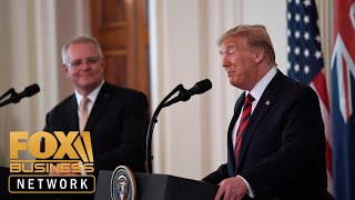 Trump, Australian PM participate in joint press conference