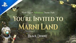 PlayStation Black Desert - Halloween: Marni's Spooky Playground | PS4 anuncio