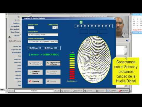 RomaySoft | Captura de Huellas Digitales