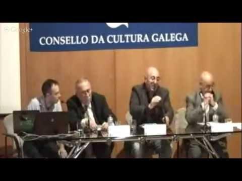 1ª Sesión. Os museos hoxe: reflexións teóricas. Debate: Antón Baamonde, Jacques Hainard, modera Xosé Carlos Sierra Domínguez