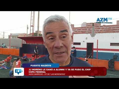 Puerto Madryn | JJ Moreno le ganó a alumni y ya se puso el chip copa federal
