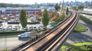 TransLink SkyTrain Running Rail Replacement Time Lapse