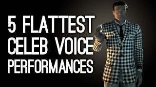 The 5 Flattest Voice Performances by Hollywood Actors in Games