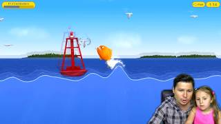 Tasty Blue СЪЕДОБНЫЙ МИР ОКЕАНА Мультик игра для детей про РЫБКУ ОБЖОРУ kids children