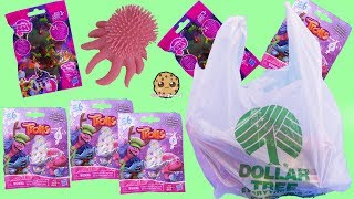 $1 Surprise Blind Bag Toys ! My Little Pony, Trolls Dollar Tree Store Haul Video