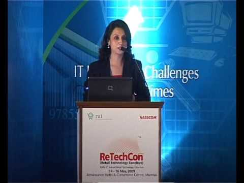 EMCEE VIMMI,DELHI,AT ReTechCon AT MUMBAI