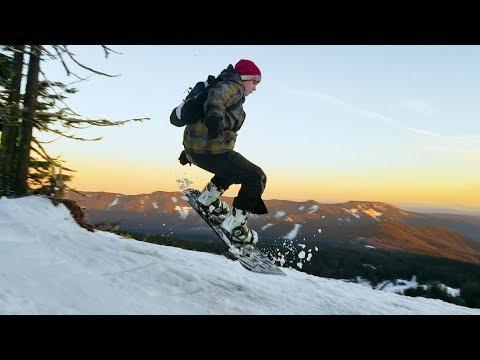 Mt. Hood Meadows Snowboarding 2018