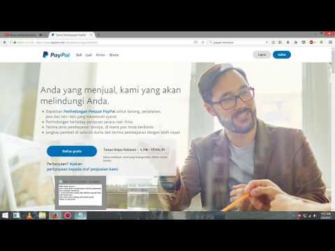 Video Cara Daftar Paypal Indonesia Gratis !!! tanpa Kartu Credit