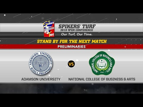 Spikers' Turf 2019 Open Conference: Adamson University vs. National College Of Business & Arts