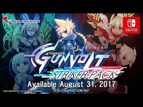 Azure Striker GUNVOLT: STRIKER PACK (Switch Version)  - Extended Trailer thumbnail