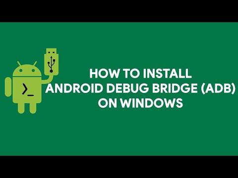 How To Install Android Debug Bridge (ADB) on Windows - [romshillzz]