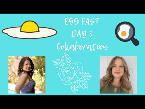 Keto Egg Fast Day 3 | Egg Fast Collaboration with Life Adventures and Keto