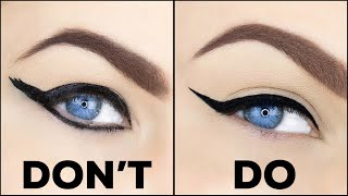 COMMON EYELINER MISTAKES TO AVOID!! | EYELINER DO'S & DONT'S!!