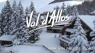 Campagne d'affichage Val d'Allos.