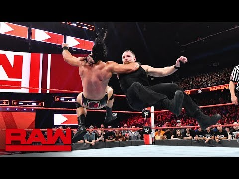 Download The Shield vs. Braun Strowman, Dolph Ziggler & Drew McIntyre: Raw, Oct. 8, 2018 HD Mp4 3GP Video and MP3