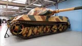 Bovington Tank Museum, Muzeum czołgów, PART 1.