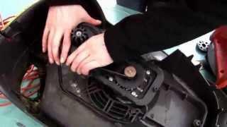 Ремень приводной для газонокосилки Einhell BG-EM 1643 (аналог ремня 9PJ 490 RICHENG) от компании ИП Губайдуллин Н. В. - видео