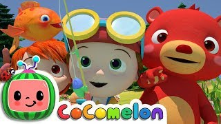 12345 Once I Caught A Fish Alive! | Cocomelon (ABCkidTV) Nursery Rhymes & Kids Songs