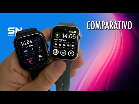 AMAZFIT GTS VS APPLE WATCH - Será mesmo o Apple Watch Killer?