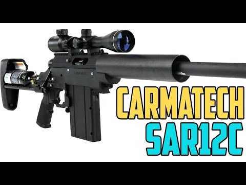 Carmatech SAR12C Paintball Gun – 4K