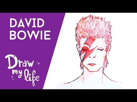 hqdefault - David Bowie, su vida contada al estilo Draw My Life