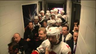 John Tortorella Angry Erupts And Goes After Flames Coaches In Hallway