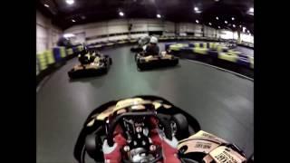preview picture of video 'Paris Kart Indoor (PKI - Wissous) karting sur la piste intérieur le 28/03/2014'