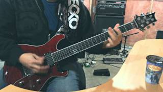 Anthrax - The Devil That You Know guitar cover HQ Audio