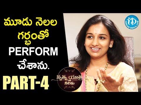 Kuchipudi Classical Dancer Yamini Reddy Exclusive Interview- Part #4  || Nrithya Yathra With Neelima