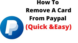 how to delete card details on paypal,how to remove a card from paypal