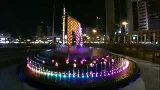preview picture of video 'Grand Effects Fire and Water Showcase - El Safat, Kuwait'