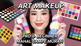 MAKEUP ART - Untuk Ahli & Pemula (Face Paint, Eyeshadow, Brush)