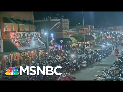 Thousands Attend South Dakota Biker Rally With No Mask Mandate | MSNBC