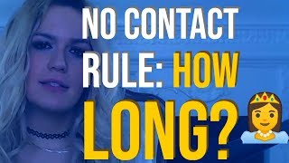 Exactly How Long To Do The No Contact Rule To Get Him Back   VixenDaily Love Advice